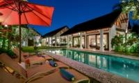 Pool Side Loungers - Villa Noa - Seminyak, Bali