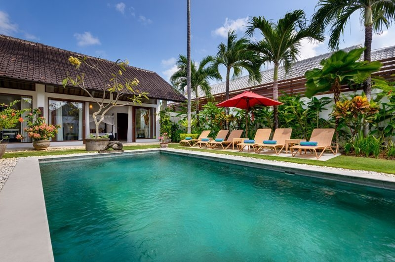 Pool Side - Villa Noa - Seminyak, Bali