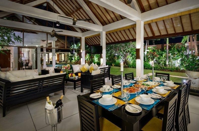 Dining Area - Villa Noa - Seminyak, Bali