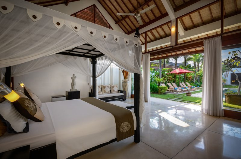 Bedroom with Pool View - Villa Noa - Seminyak, Bali