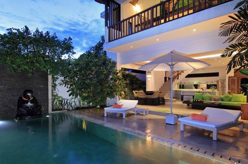 Sun Loungers - Villa Novaku - Seminyak, Bali
