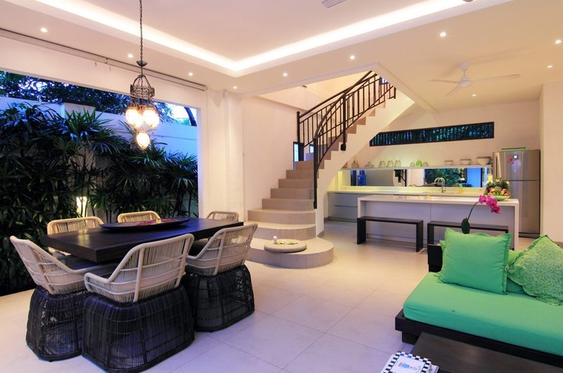 Dining Area with Up-Stairs - Villa Novaku - Seminyak, Bali