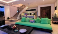 Living Area with Up-Stairs - Villa Novaku - Seminyak, Bali