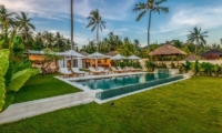 Gardens and Pool - Villa Oceana - Candidasa, Bali