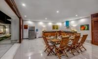Kitchen and Dining Area - Villa Oceana - Candidasa, Bali