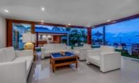 Indoor Living Area - Villa Oceana - Candidasa, Bali