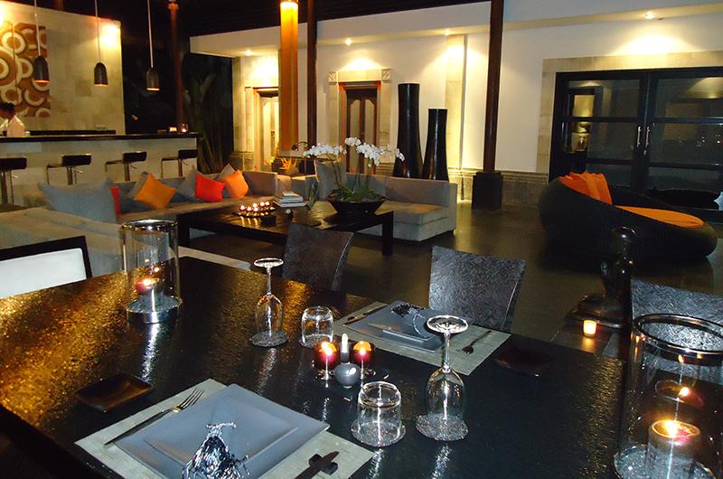 Dining Area - Villa Orchids - Ubud, Bali