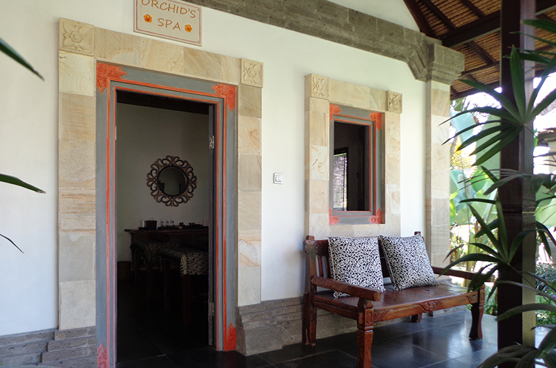 Spa Entrance - Villa Orchids - Ubud, Bali