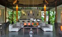 Indoor Living Area - Villa Orchids - Ubud, Bali