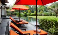 Reclining Sun Loungers - Villa Orchids - Ubud, Bali