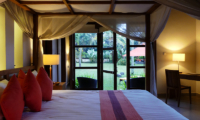Bedroom with Garden View - Villa Orchids - Ubud, Bali