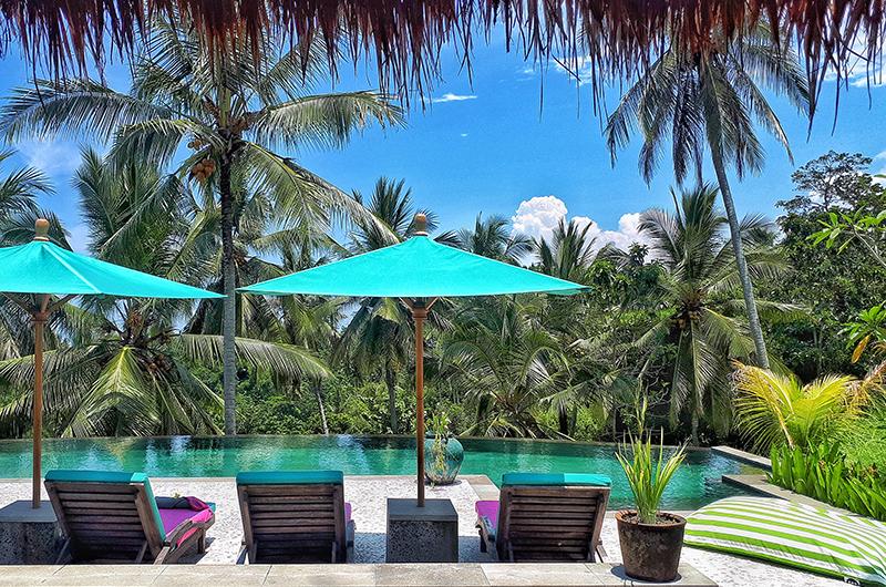 Sun Beds - Villa Palem - Tabanan, Bali