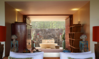 Bedroom and Bathroom - Villa Palem - Tabanan, Bali