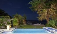 Gardens and Pool - Villa Pantai - Candidasa, Bali