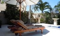 Reclining Sun Loungers - Villa Pantai - Candidasa, Bali