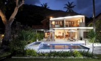 Night View - Villa Pantai - Candidasa, Bali