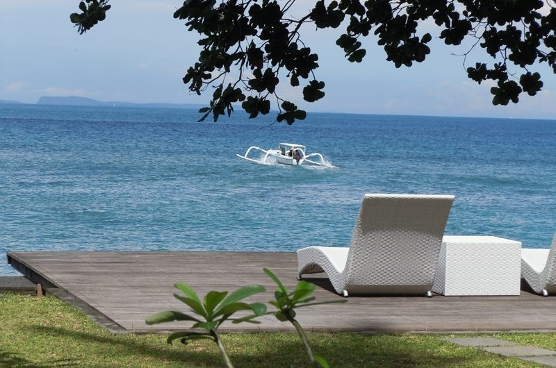 Sun Beds with Sea View - Villa Pantai - Candidasa, Bali
