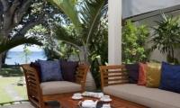 Open Plan Lounge Area - Villa Pantai - Candidasa, Bali