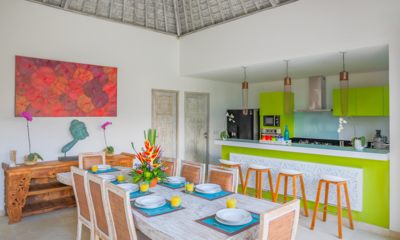 Kitchen and Dining Area - Villa Paraiba - Seminyak, Bali
