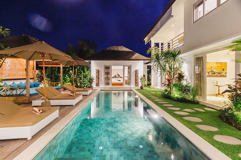 Swimming Pool - Villa Paraiba - Seminyak, Bali