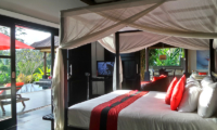 Bedroom with Pool View - Villa Passion - Ubud, Bali