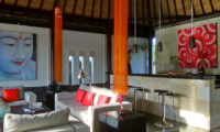 Living Area - Villa Passion - Ubud, Bali
