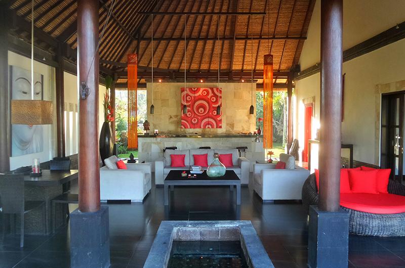 Indoor Living Area - Villa Passion - Ubud, Bali