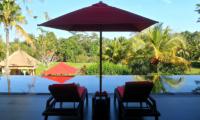 Pool Side Loungers - Villa Passion - Ubud, Bali