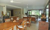 Indoor Living and Dining Area - Villa Perle - Candidasa, Bali