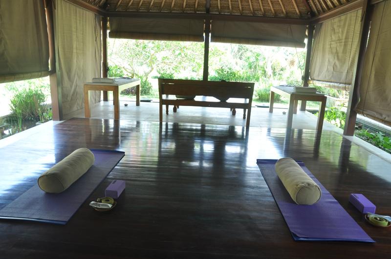 Yoga Area - Villa Perle - Candidasa, Bali