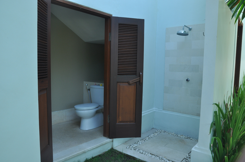 Bathroom with Shower - Villa Perle - Candidasa, Bali