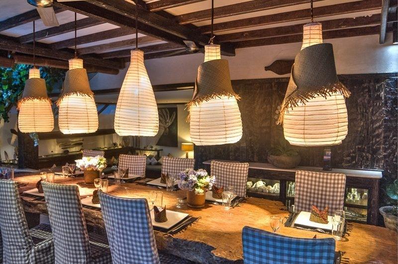 Dining Area - Villa Phinisi - Seminyak, Bali