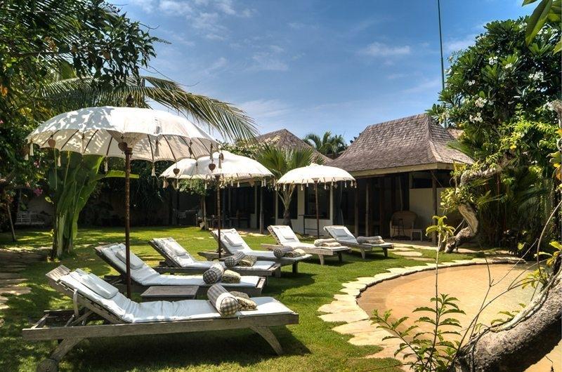 Sun Beds - Villa Phinisi - Seminyak, Bali