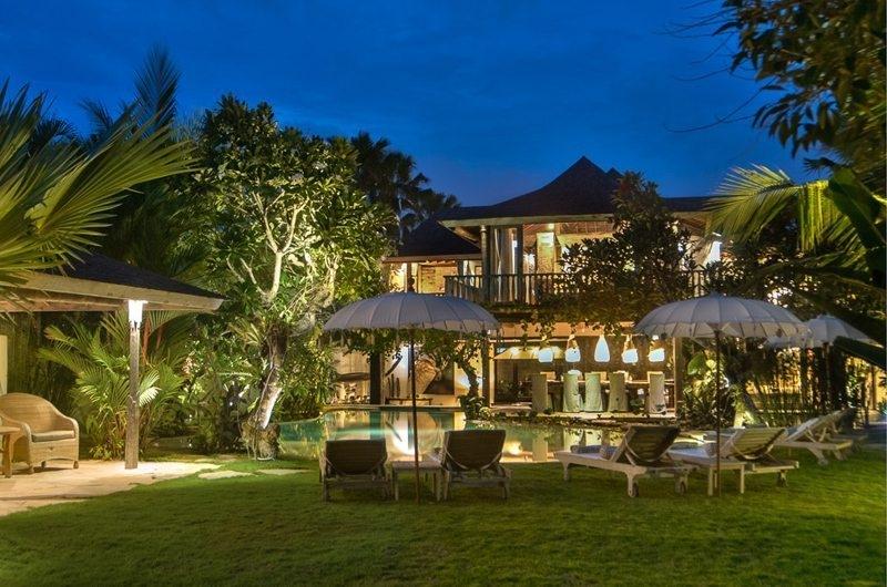 Pool at Night - Villa Phinisi - Seminyak, Bali