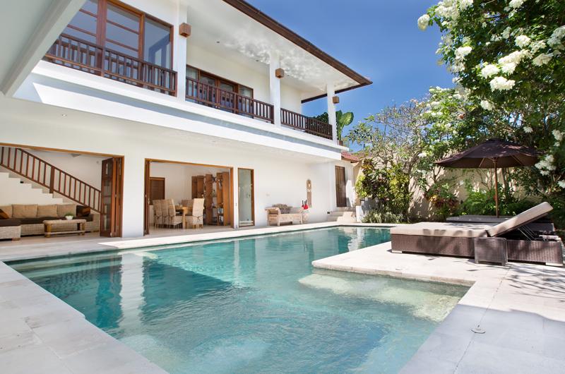 Pool Side Loungers - Villa Puri Temple - Canggu, Bali