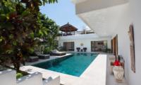 Pool Side - Villa Puri Temple - Canggu, Bali