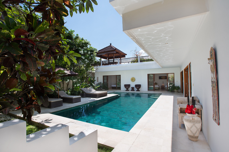 Pool Side - Villa Puri Temple - Canggu, Bali