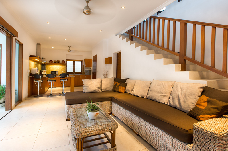 Living Area - Villa Puri Temple - Canggu, Bali