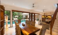 Living and Dining Area - Villa Puri Temple - Canggu, Bali