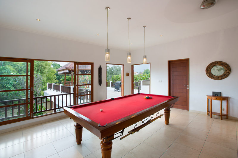 Billiard Table - Villa Puri Temple - Canggu, Bali