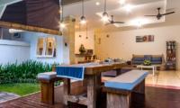 Open Plan Dining Area - Villa Rasi - Seminyak, Bali