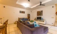 Living Area with TV - Villa Rasi - Seminyak, Bali