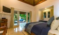 Bedroom with Pool View - Villa Rasi - Seminyak, Bali