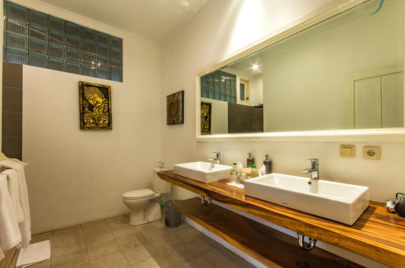 His and Hers Bathroom - Villa Rasi - Seminyak, Bali