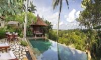 Pool Side - Villa Ria Sayan - Ubud, Bali