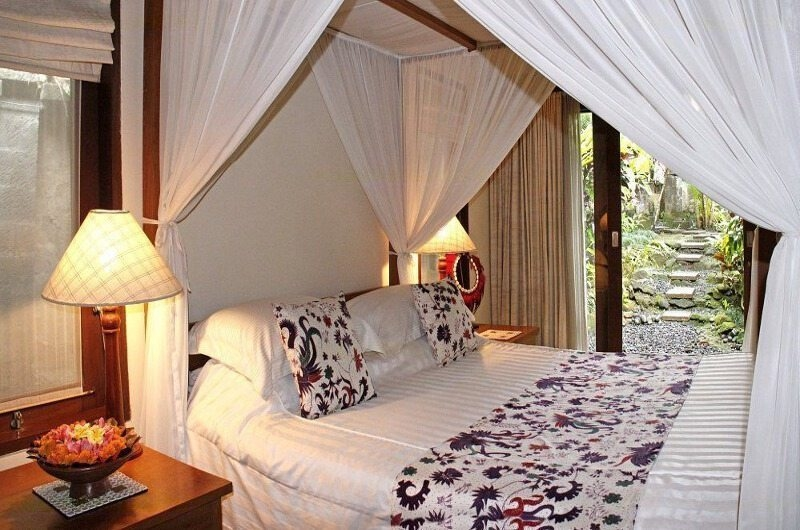 Bedroom with View - Villa Ria Sayan - Ubud, Bali
