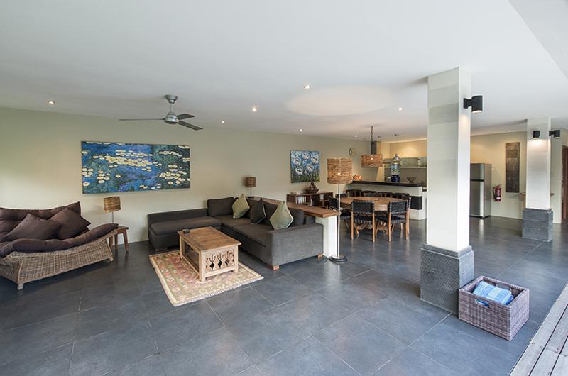 Indoor Living and Dining Area - Anyar Estate - Umalas, Bali