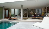 Pool Side Seating Area - Villa Rio - Seminyak, Bali
