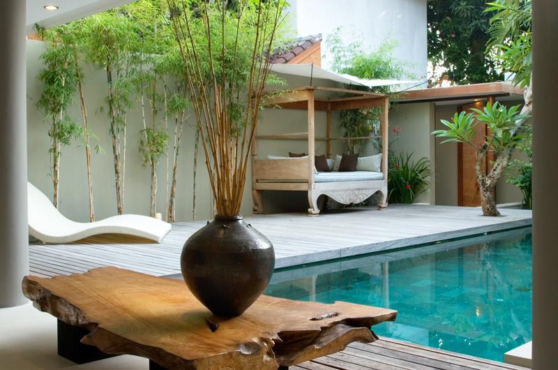 Pool Side Loungers - Villa Rio - Seminyak, Bali
