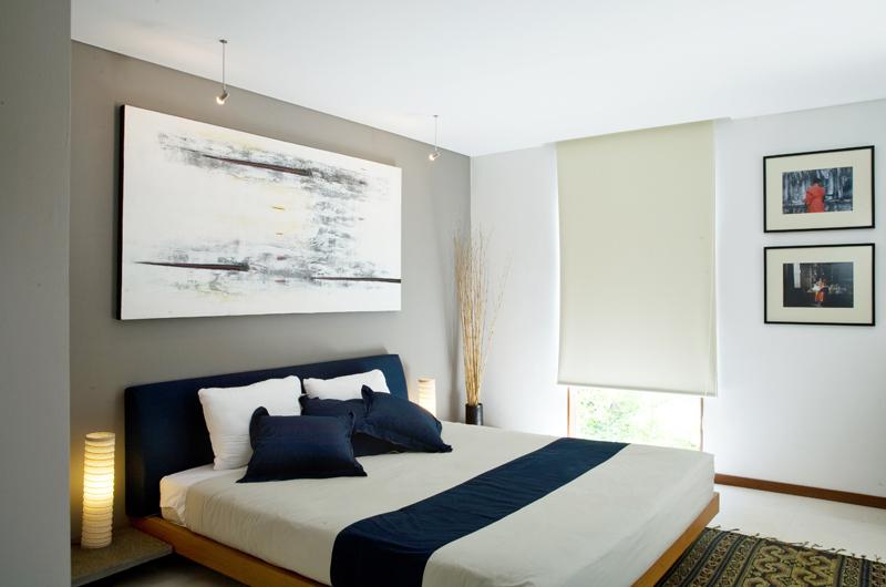 Bedroom with Lamps - Villa Rio - Seminyak, Bali